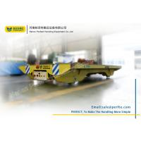 Buy cheap Heavy Capacity Electric Pallet Rail Transfer Cart for Material Transship from Wholesalers