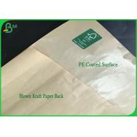 Buy cheap Harmless 40g PE Coated FDA Brown Kraft Paper For Fried Chicken Box from wholesalers