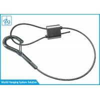 China Professional Supplier Cable Hook Gripper Single Cable W/ Ceiling Gripper & Gated Hook factory