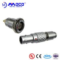 China 0B 2 pin male and female circular push pull connector for Infrared Camera factory