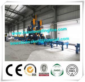 China Automatic H Beam Assembling Machine , H Beam Straightening Machine CE / ISO factory