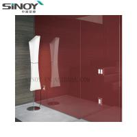 China Wall Board Glass Painted Glass With FENZI Paint factory