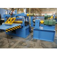 China Optional Color Steel Coil Slitting Line , Sheet Metal Slitter Machine factory