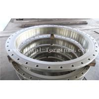 China Quenching And Tempering Carbon Steel Flange / Pressure Vessel Flange factory