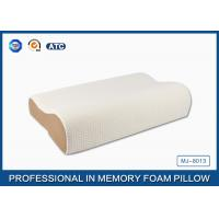Buy cheap High Density Slow Recovery Cervical Memory Foam Contour Pillow With Soft Cover from Wholesalers