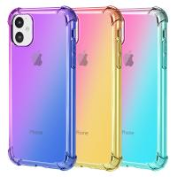 China iPhone 11 TPU Cover Rainbow Shockproof Case for Apple iPhone 11 2019 factory