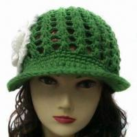 China Hand Knitted Hat for Women, OEM Orders are Welcome factory