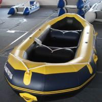 Buy cheap 3 to 12 person used 0.8mm PVC whitewater raft boat self bailing from Wholesalers