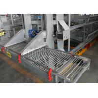 China A Type Layer Poultry Farming Equipment  160 Birds Capacity 20 Years Lifespan factory
