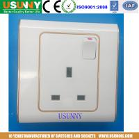 China BS with switch wall socket factory