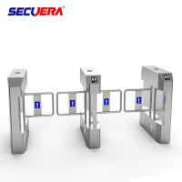 China Professional Face Recognition Security System Flap Turnstile Barrier Gate made in China factory