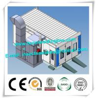 China Automotive Spray Booth Shot Blasting Machine H Beam Dual Filtering Structure factory