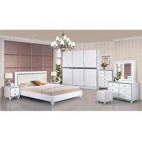 Buy cheap Turkish Moslem High Gloss Bedroom Furniture Wardrobes Khaki Color With 2.7 Meter Length from Wholesalers