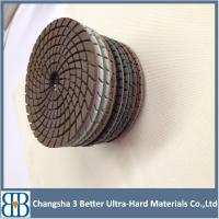 Buy cheap 2015 New arrival professional granite marble stone 4 inch diamond polishing pad from Wholesalers