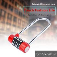 Buy cheap Long Beam 5 - Digit High Security Padlock , Extended Lock Hook Padlock from Wholesalers