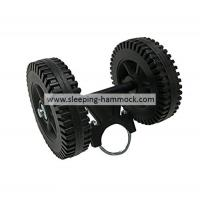 Buy cheap Portable Heavy Duty Black Mobile Plastic Wheels For Hammock Stand Hammock Stand Matched from Wholesalers