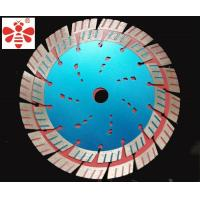 "China 5  7 ""  Diamond Cutting Blade 1 Inch Arbor Apply  To Cut Brick Turbo Angle Grinder on sale"
