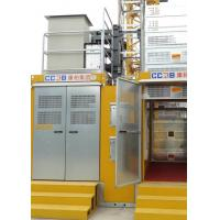 Buy cheap Payload Capacity 3000Kg Rack & Pinion Hoist Cage Internal Size W1.5 M * L3.2 M * H2.35 M from Wholesalers