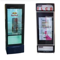 China Supermarket Transparent Lcd Screen For Cold Drink Frigerator Display factory