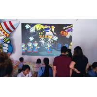 China High Interactive AR Projection Mapping Happy Penguins Topic For Indoor Playground factory