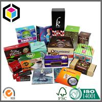 China Folding Function Custom Print Color Paper Carton Packaging Box on sale