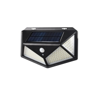 China wide angle solar light wall lamp motion sensor led light for Garden Patio Yard Front Door Garage Porch factory