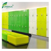 China Hot Selling leather finish Waterproof HPL Safe UK Lockers, used locker for sale on sale