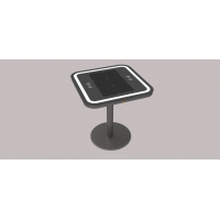 Buy cheap Single Leg 30W 20Ah Wireless Charging Coffee Table 6.7V from wholesalers