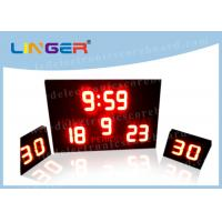 China Low Volatge and Current with Shot Clock Led Electronic Scoreboard for Waterpolo factory