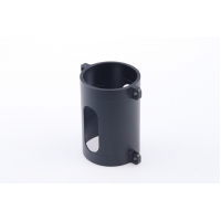 Buy cheap Aluminum Alloy Hex Cnc Turned Components Black Oxide Coating from wholesalers