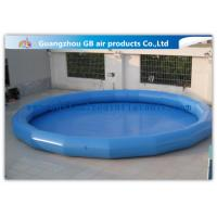 China Safety Round Children Big Inflatable Swimming Pool For Funny Water Game factory