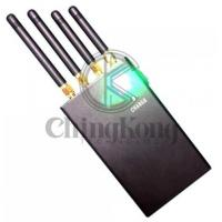 Buy cheap Mini Handheld Portable Jamming Device Mobile Phone Signal Jammer With 4 Antennas from Wholesalers