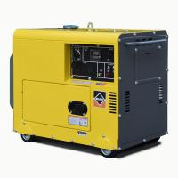 Buy cheap Single Phase Portable Gasoline Generator Silent 3kVA 5kva 3000rpm Air Cooled from Wholesalers