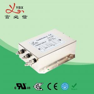 China Yanbixin Three Phase UPS RFI Power Filter / RFI Interference Filter 12.5KW 275V 480V factory
