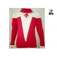 Buy cheap 100% Cotton Girls Knit Sweater Eye Catching Colors Autumn Winter Customized Service from Wholesalers