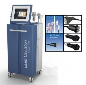 China 40KHz Cavitation 6 Polar RF Vacuum Lipo Laser Slimming Instrument Non Surgical on sale