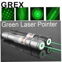 Buy cheap Green flashlight High Power Laser Pointer Long Distance 200mw Green Laser Pointer with 5 Pattern Heads with charge and b from wholesalers