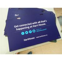 Buy cheap High Density PVC Custom Sign Boards Double Sided Full Color Printing from Wholesalers