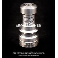 China wholesale nail supplies Domeless Titanium Nails Gr2 14mm/18mm Highly Educated Infinity on sale