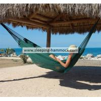 Buy cheap Big Pool Foldable Green Thick String Mayan Hammock Hand Woven With Stand 55 X 84 Inches from Wholesalers