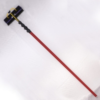 China 60ft 3k High Modulus Carbon Fiber Telescopic Pole For Swimming Pool factory