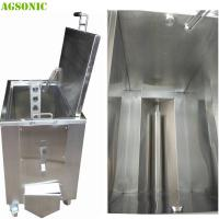 Buy cheap Double Walled Insulated Stainless Steel Soak Tank Trolly Heated Ultrasonic 2KW from Wholesalers