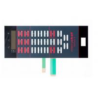 Good Tactility Performance LED Membrane Switch Assembly With 3M467 / 3M468 Adhesive