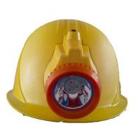 Buy cheap LM-NHigh quality coal miner safety helmet with LED light for mining from Wholesalers