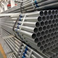 China UL797 EMT Electrical Conduit Pipe / Electrical GI Conduit Pipes Anti Aging factory