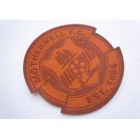 China Custom Embroidered Name Patches factory
