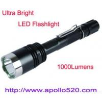 Buy cheap 1000lumens Cree Led Torch Tactical Flashlight from Wholesalers