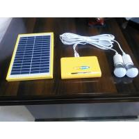 China Home Solar Panel Light Kit  Solar Camping Light Kit 12 Hours AC Charging Time factory