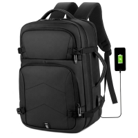 China 15.6 Inch Business Waterproof Smart USB Laptop Backpack factory