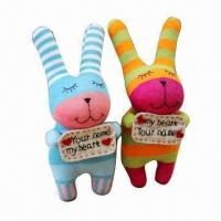 China Sock Nice Cotton Plush Toys, Customized Designs are Accepted factory